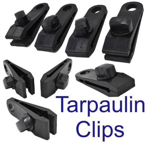 Tarpaulin Clips Clamps Sheet Clip Clamp 4pc Set TL003