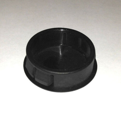 "Agujero de bloqueo de nylon negro tapones 1-3//32/"" Qty 5"