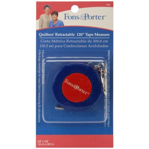 Dritz Steel Fons And Porter Retractable Tape Measure Measure120