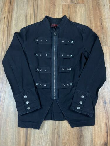 Tripp NYC Mens Jacket Size Large Black