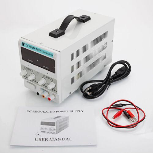 30V 5A//10A DC Power Supply Precision Variable Digital Adjustable Lab Grade 110V