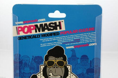 POPMASH Collezionabile figura in vinile stile RARA 8cms Figurina-Eddie Smurfy NUOVO