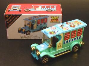 Tomica-Tokyo-Disneyland-Toy-Story-Big-City-Wieck-Lumpur-Police-Wagon-Diecast-Car