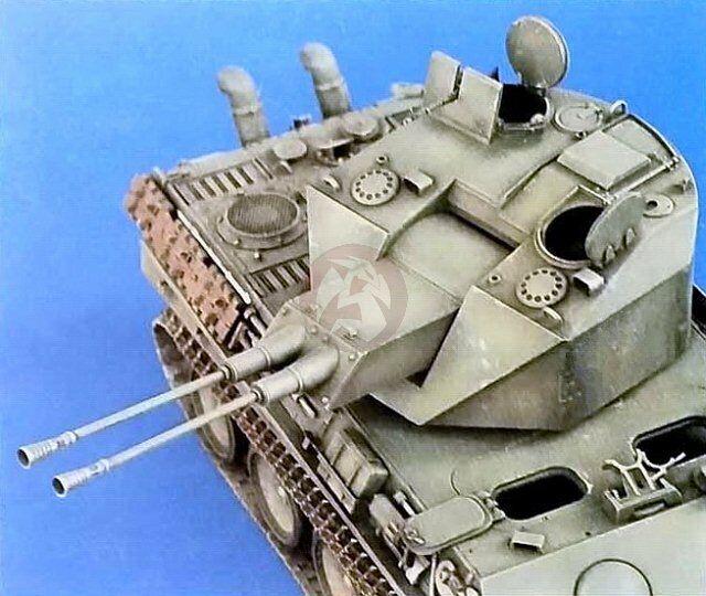 Verlinden 1 35 Flakpanzer Coelian Turret Conversion Panther Tank (Tamiya) 1081