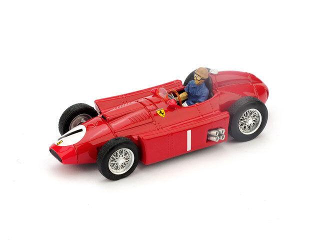 Ferrari D50 GP Gran Bretagna 1956 Juan Manuel Fangio  1 Pilota 1 43 R076CH
