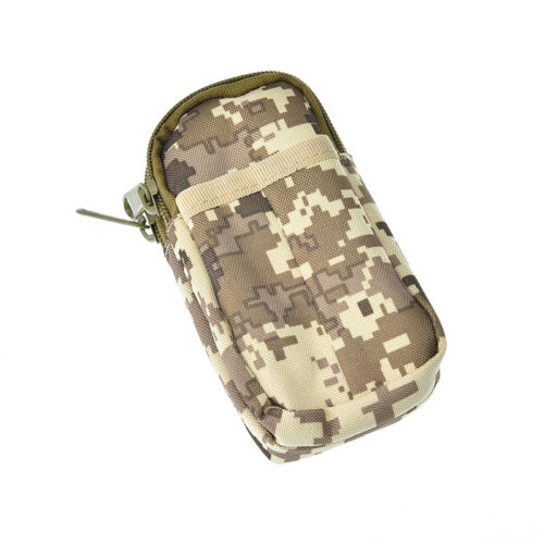 outdoor waterproof military tactical edc camping hanging waist bag poubd