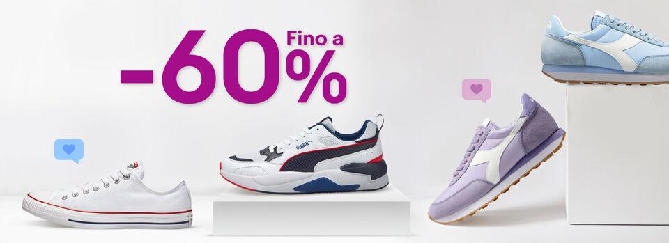 Scopri tutto - Sneakers: fino a -60% sui migliori brand