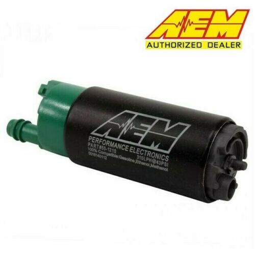 AEM 50-1210 E85-Compatible High Flow 310LPH In-Tank Fuel Pump Offset Inlet