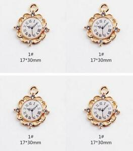 Image Is Loading Lot Alice In Wonderland Watch Diy Charms Jewelry