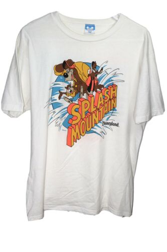 Vintage Splash Mountain Disneyland T Shirt Mickey