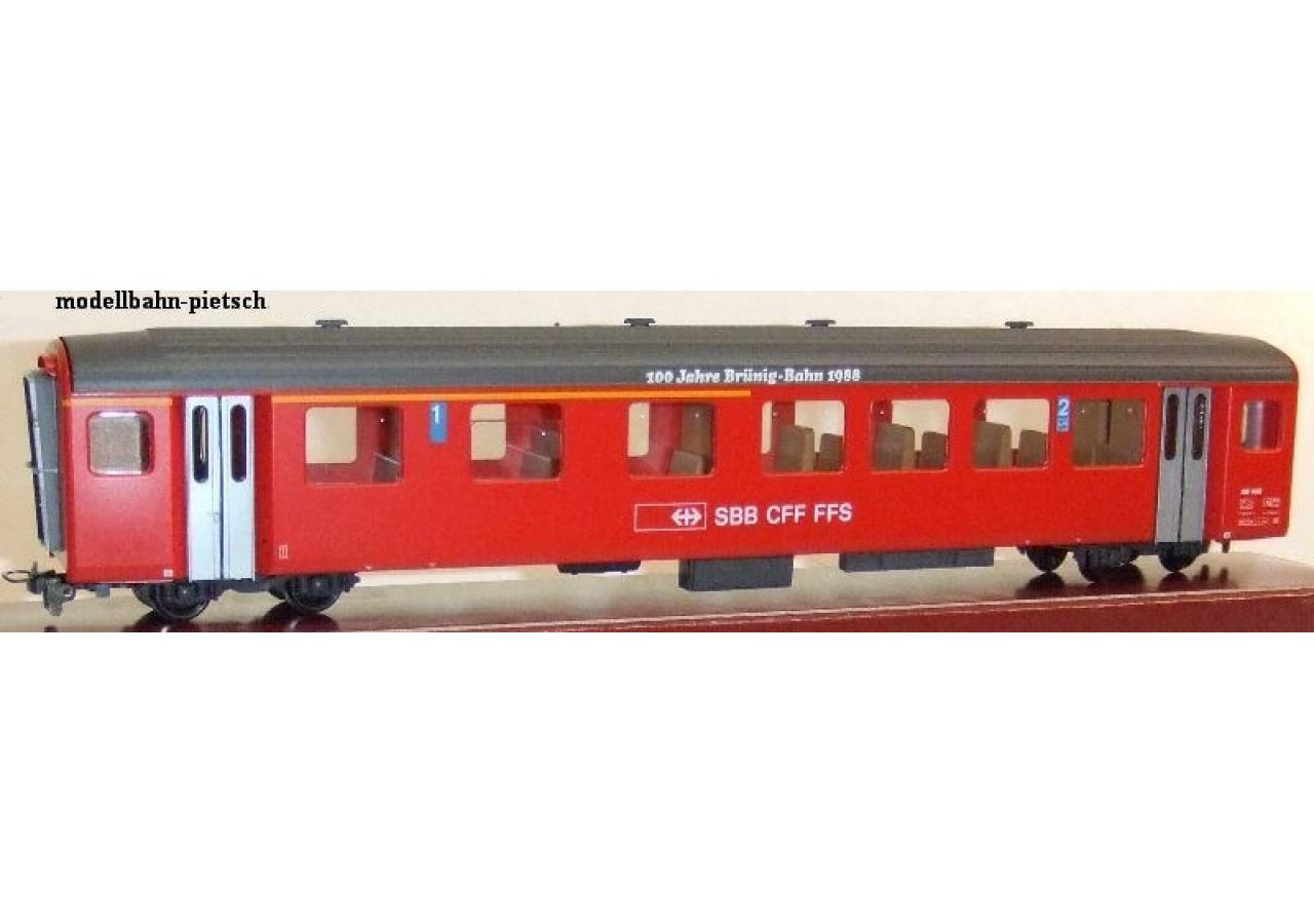BEMO HOM 3277428 SBB a partire dal 408  100 anni Brünig-Bahn 1988 , nuovo in scatola originale