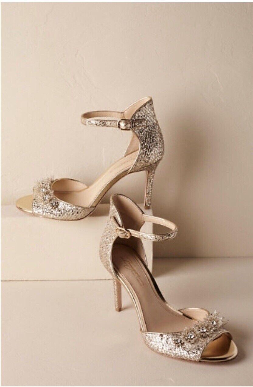 BHLDN x Vince Camuto Brinley Bridal Heels sz 10