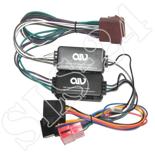 Sistema de forma activa-adaptador audi a6 a8 TT mini ISO AIV 630096