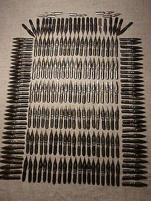 Speedball calligraphy vtg Soviet Russian dip pen nibs set 210pc