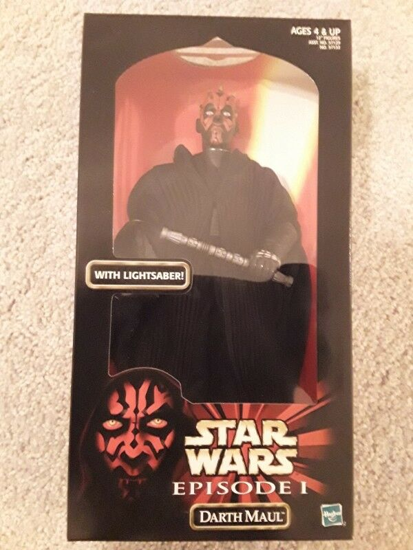 Darth maul star - wars - aktion sammlung kenner episode 1 12  action - figur neue