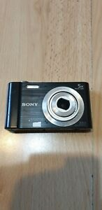 Sony-Cyber-shot-DSC-W800-20-1MP-Digital-Camera-Black-5x-Zoom-READ-DESCRIPTION