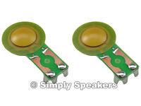 Diaphragm For Cerwin Vega Speaker H25 H-25 Ho25 Ho-25 Horn Driver (2-pack)