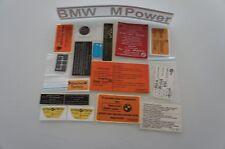 BMW E28 M5 Engine Sticker SET aufklebersatz
