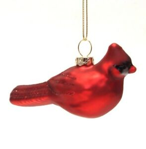image is loading 4 034 hand blown glass red glittered glass