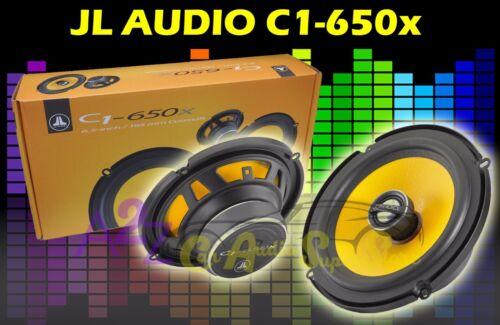 "JL AUDIO C1-650X 6.5/"" 150W RMS CAR 2-WAY ALUMINUM TWEETERS COAXIAL SPEAKERS NEW"