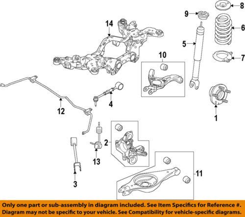 FORD OEM Stabilizer Sway Bar-Rear-Link DG1Z5K484A