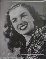 Norma Jean 22x28 Plaid Shirt Poster 1987/88 Marilyn Monroe