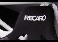 2x RECARO Flock seat logos, Easy iron-on