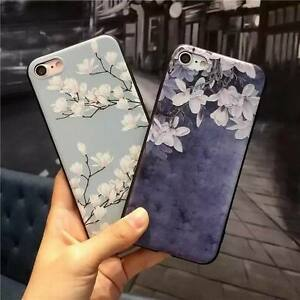 buy popular bc500 46648 Details about Cute Rubber Soft Silicone Pattern Flower Phone Case Cover For  iPhone 6 6s 7 Plus