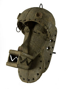Maschera Di Scimmia Piccolo Gewo - Côte D' Ivoire-6327-G1