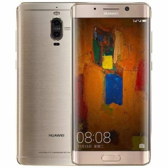 New Imported Huawei Mate 9 Pro Duos Dual Sim 128GB 6GB 20MP+12MP 8MP Gold