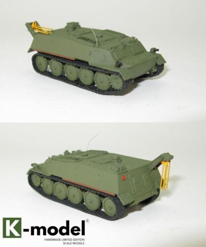 GAZ-34025 GT-MU RHM-2S chemische Prospektion Maschine 1:87 HO NVA UdSSR