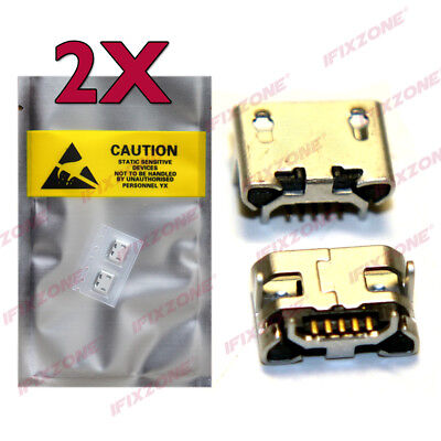 2 X New Micro USB Charging Sync Port Charger Acer Iconia One B3-A10 A5005 USA
