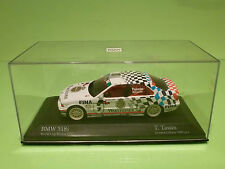 MINICHAMPS BMW 318i E36 - WORLD CUP MONZA 1993 - T. TASSIN BELGIUM - 1:43 - NMIB