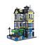 Baukästen WANGE Stadt Villa Garten Geschenke Modell Dekoration Spielzeueg Mini 2