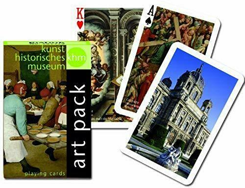 HK Museum Vienna Vienna Vienna - Playing Cards by Piatnik 44f