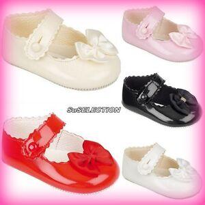 NEW BAYPODS BABY GIRL PINK PRAM SHOES
