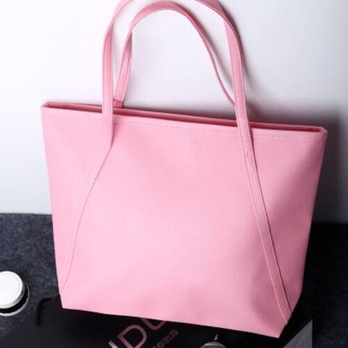 Women Girl Handbag Shoulder Large Tote Purse Pu Leather Hobo Bag Satchel Handbag
