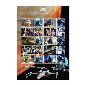 Z06AT090-Reino-unido-Gran-Bretana-2015-Star-Wars-tm-Collector-Sheet