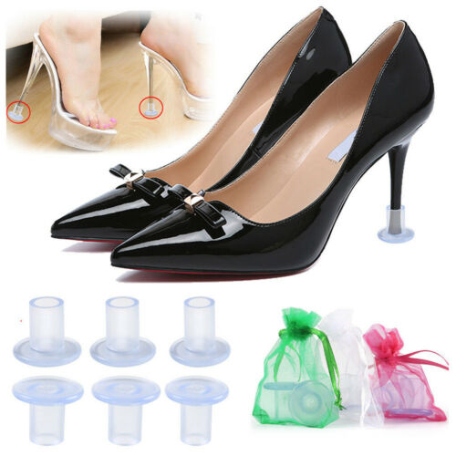 High Heel Protectors Stopper Stop Shoes Heel Sinking Stiletto Cover With Bag New