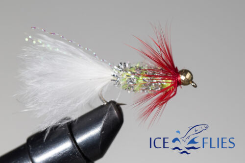 3-pack ICE FLIES The tongue - 10 Size 2 Streamer fly