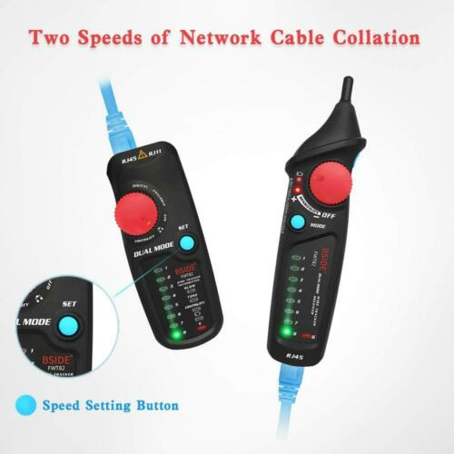 BSIDE FWT82 Dual Mode Network Cable Tracker RJ45 RJ11 Wire Ethernet LAN Tracer