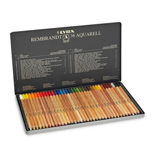LYRA REMBRANDT  matite polycolor artisti  24-36-72 pezzi IN SCATOLA METALLO