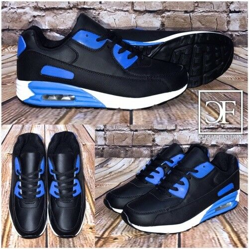 Bequeme HERREN   Unisex AIR Sportschuhe   Sneakers blue   black