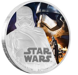 2016-STAR-WARS-Captain-Phasma-1oz-Silver-Proof-Disney-Coin-Gift-Idea-RRP-120-00