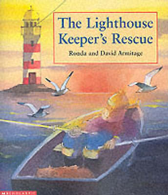 """""""AS NEW"""" Armitage, David, The Lighthouse Keeper's Rescue (Scholastic Press), Pap"""