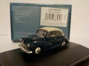 Model-Car-Morris-Minor-Blue-1-76-New