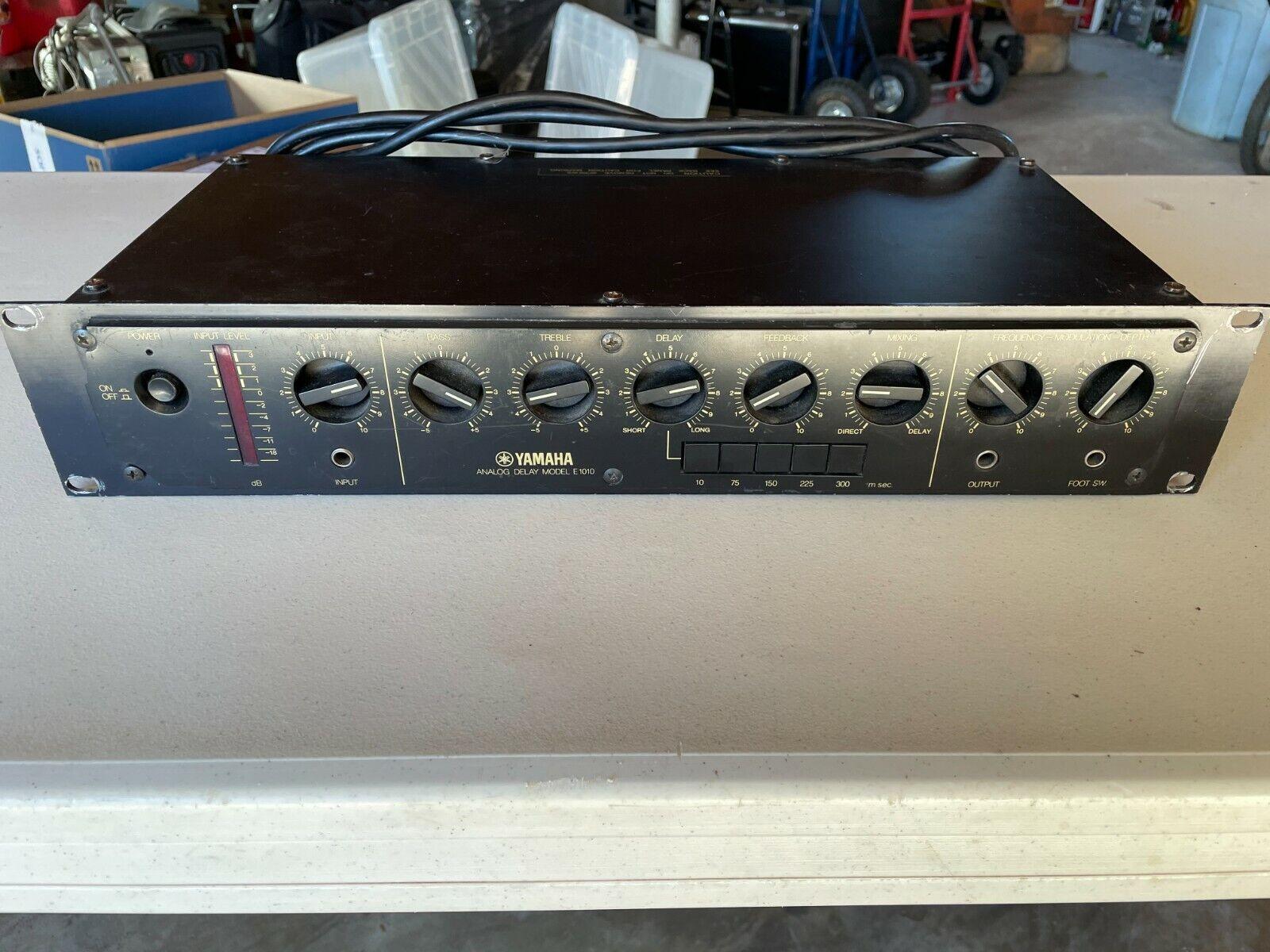 Yamaha E1010 analog delay. Buy it now for 400.00