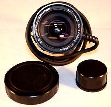 D.O Industries Navitron TV lens F1.3/8mm AI C mount
