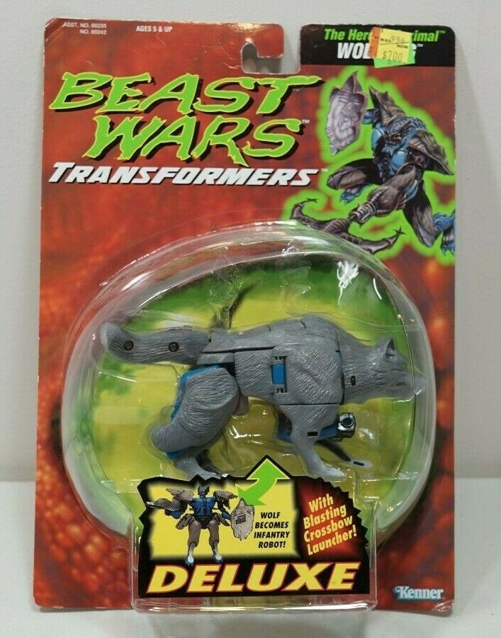 Transformers Beast guerras Wolfang MOC 1995 Heroic Maximal Deluxe