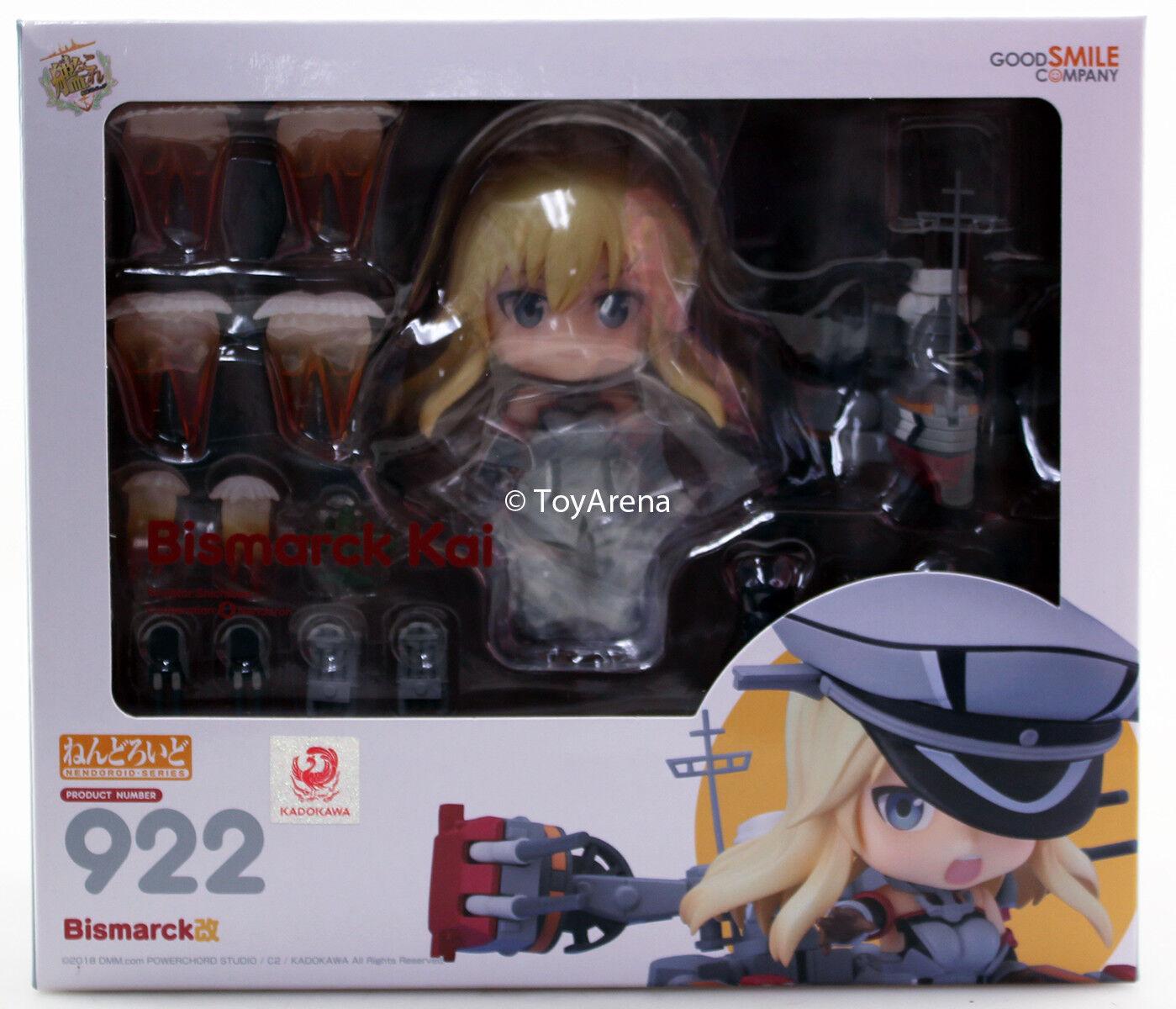Nendoroid  922 Bismarck Kai Kantai collezione KanColle Authentic IN STOCK USA